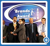 Best Brands of the year Award 2010